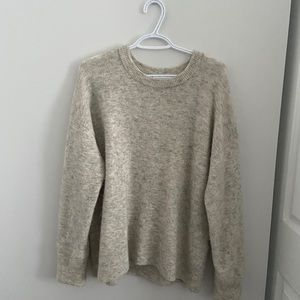 Wilfred Thurlow Sweater in Winter White